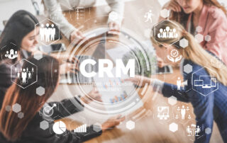 CRM Customer Relationship Management for a business sales marketing system.